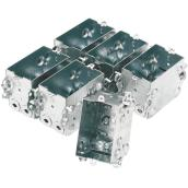 Rectangular Device Boxes - 6-Pack