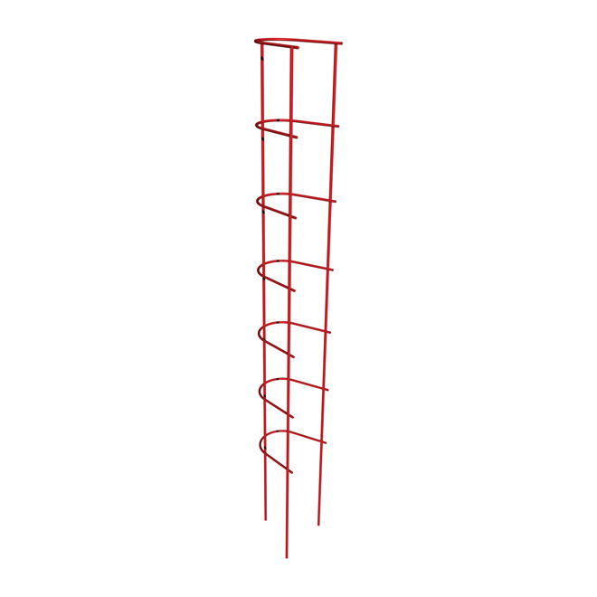 "Plant Support Trellis Ladder 57"" - Red"