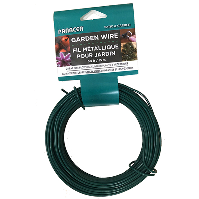 Plant Support Wire 50' - Black