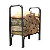 Firewood Log Rack - Black