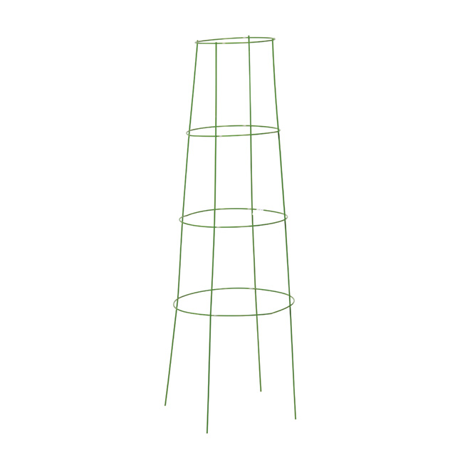 "Inverted Tomato Cage and Plant Support 48"" - Green"