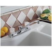 Manor 1 Handle Kitchen Faucet Rona