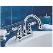 2 Handle Bathroom Faucet Chrome Rona