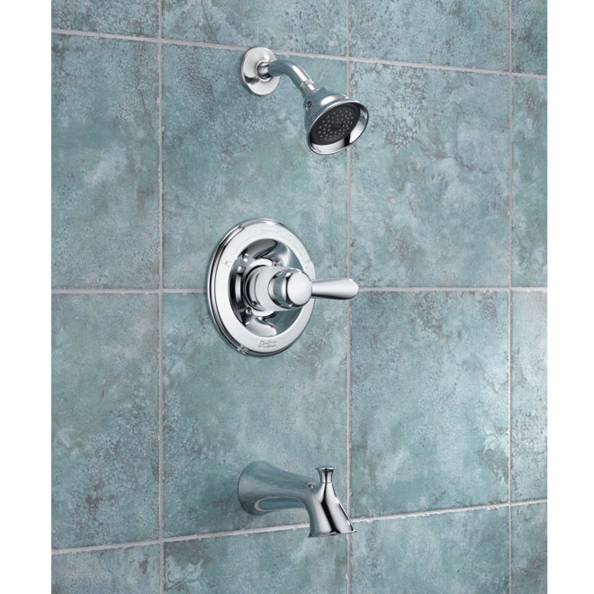 """Lahara"" shower-bathtub faucet"