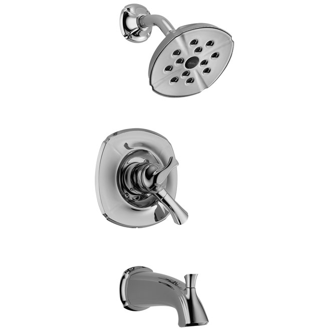 """Addison"" bathtub and shower faucet"