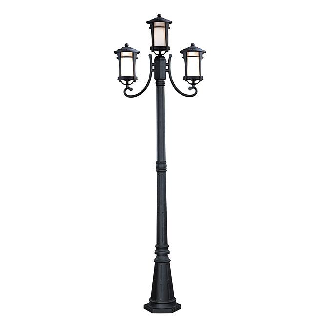 maya 3 head outdoor lamp post rona