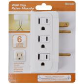 6-Outlet Wall Tape