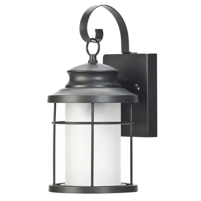 LED Outdoor Wall-Mount Lantern - 14""