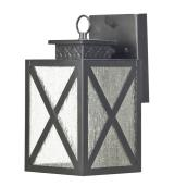 LED Outdoor Wall-Mount Lantern - 10 3/4