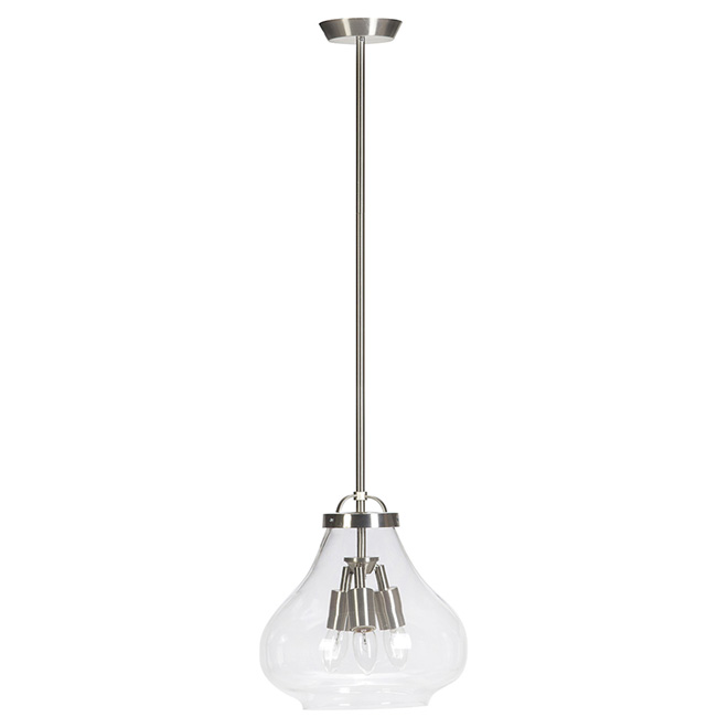 3-Light Pendant Light - 11.8""