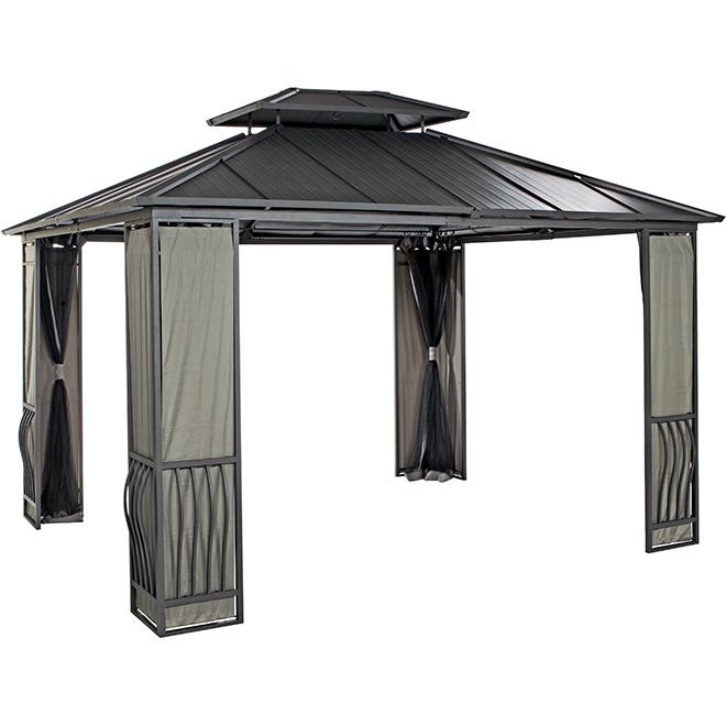 Sun shelter rona for Abri mural sun shelter