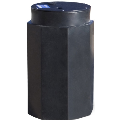 Polyethylene Octagonal Sump Pit 18 Quot X 30 Quot Black Rona