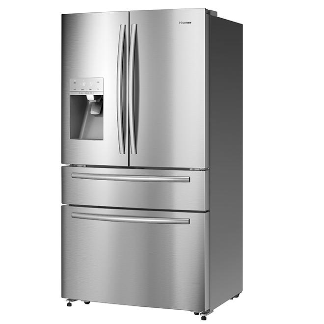 r frig rateur tiroir frigo cong lateur 21 pi acier rona. Black Bedroom Furniture Sets. Home Design Ideas
