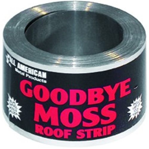 Quot Goodbye Moss Quot Zinc Roof Strip Roll 50 Rona
