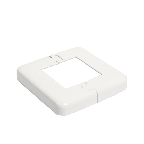 Railing Base Plate Cover - White