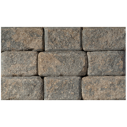 Pierre de coin pour mur StackStone, romain, anthracite