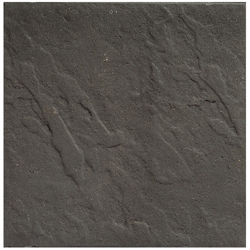 """Dynasty"" Square Patio Stone 15 3/4""- Charcoal"