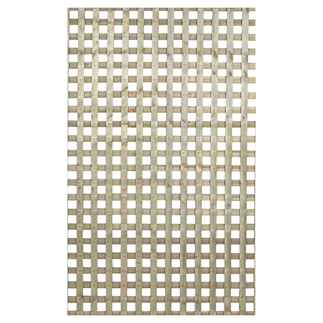 Lattice Quot Square Privacy Quot Press Treated Lattice Rona