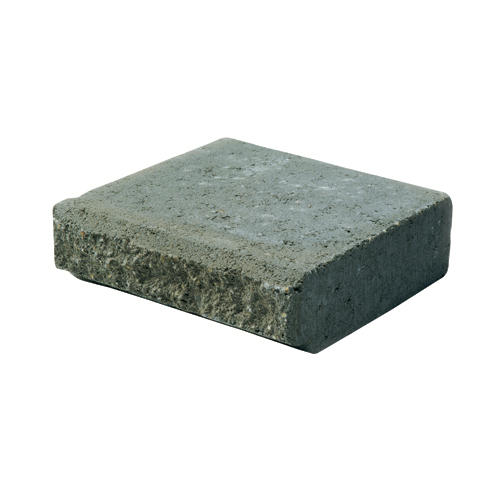 """Allan Block (AB) Jumbo"" Retaining Wall Cap - Grey"