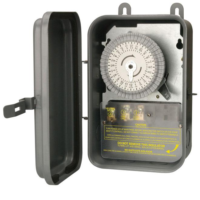 Outdoor Mechanical Timer