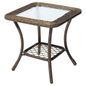 Patio Side Table - Spruce Hills - Brown - 20