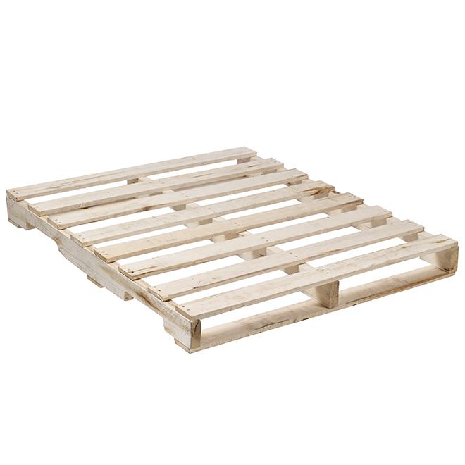 palette en bois naturel 48 x 40 x 5 rona. Black Bedroom Furniture Sets. Home Design Ideas