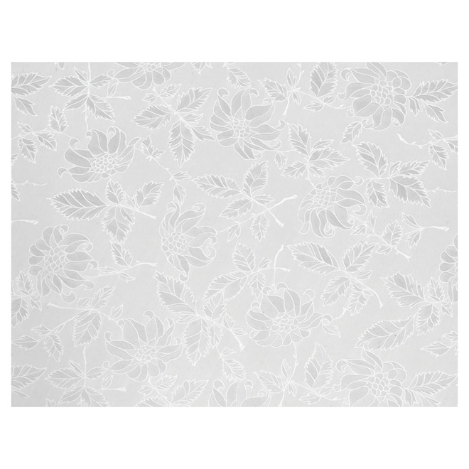 Self-Adhesive Vinyl Film - Clear Floral
