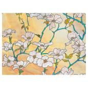 Static-Cling Window Film -Dogwood - 32.25
