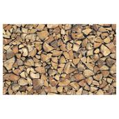 Self-Adhesive Vinyl Film, Wood Logs