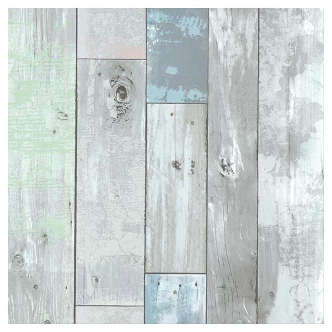 papier peint bois de grange 20 po x 31 po rona. Black Bedroom Furniture Sets. Home Design Ideas