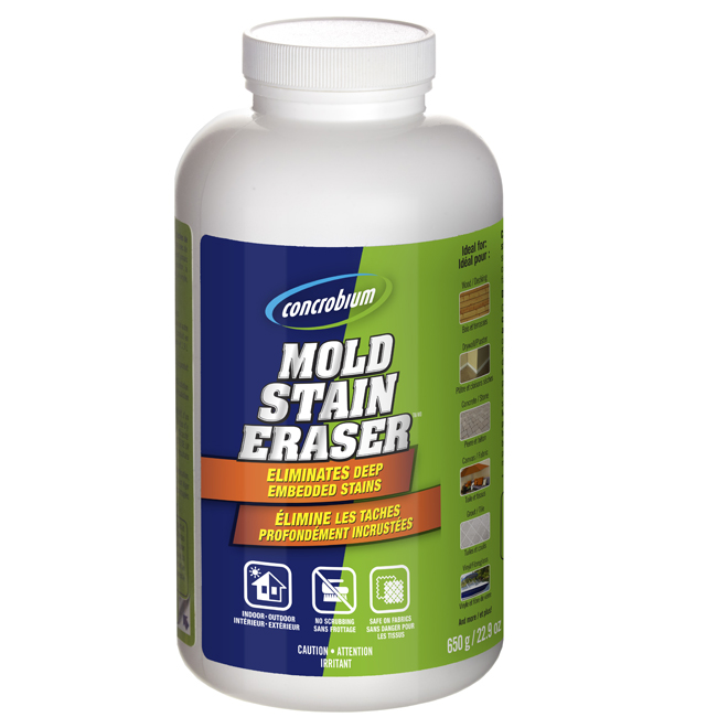"""Mold Stain Eraser"" Cleaner"