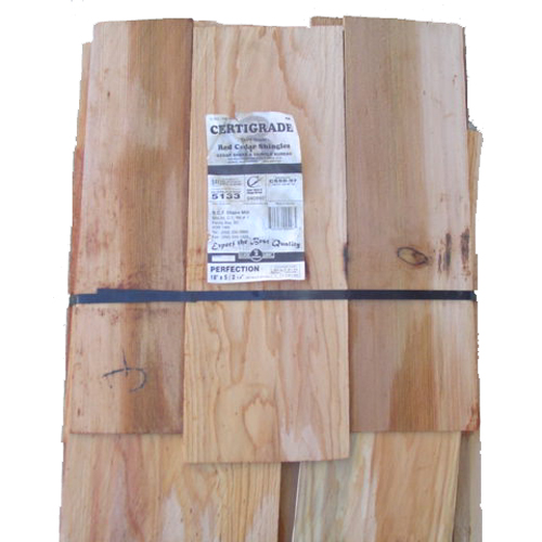 """Perfection"" Western Red Cedar Shingles - 18"""
