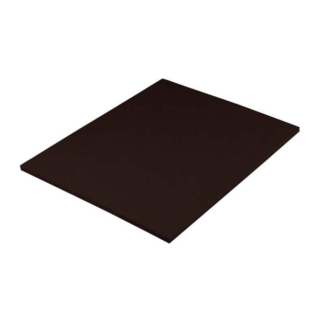 panneau isolant rigide en fibre de bois 7 16 x 4 39 x 8 39 noir rona. Black Bedroom Furniture Sets. Home Design Ideas
