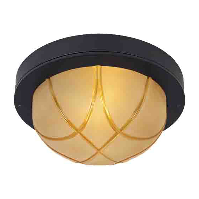 Outdoor ceiling fixture