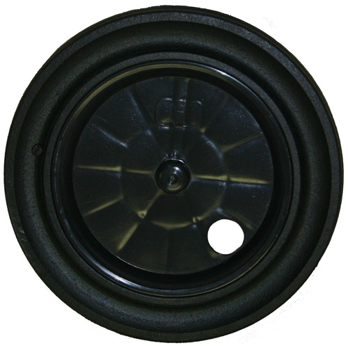 "12"" Black Cart Wheel"
