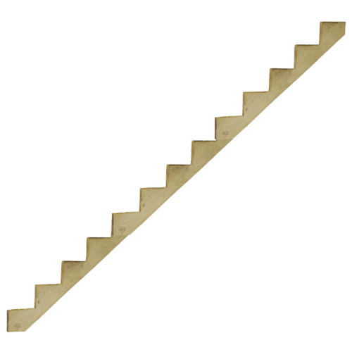 13-Step Pressure-Treated Stair Stringer - 143""