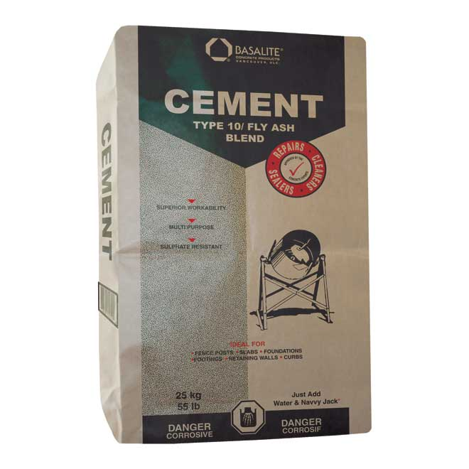 Premixed Type 10 Portland Cement with Fly Ash - 25 kg