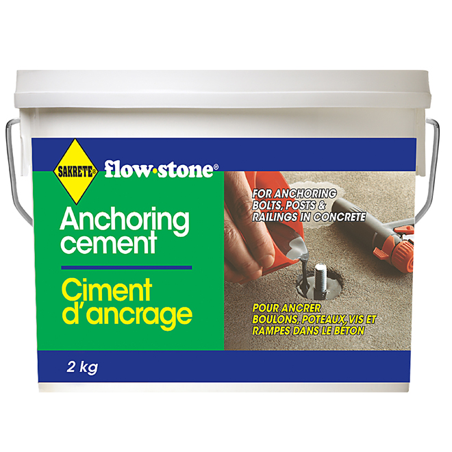 Anchoring cement
