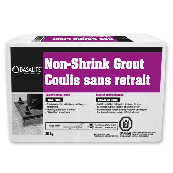 Coulis sans retrait, 25 kg