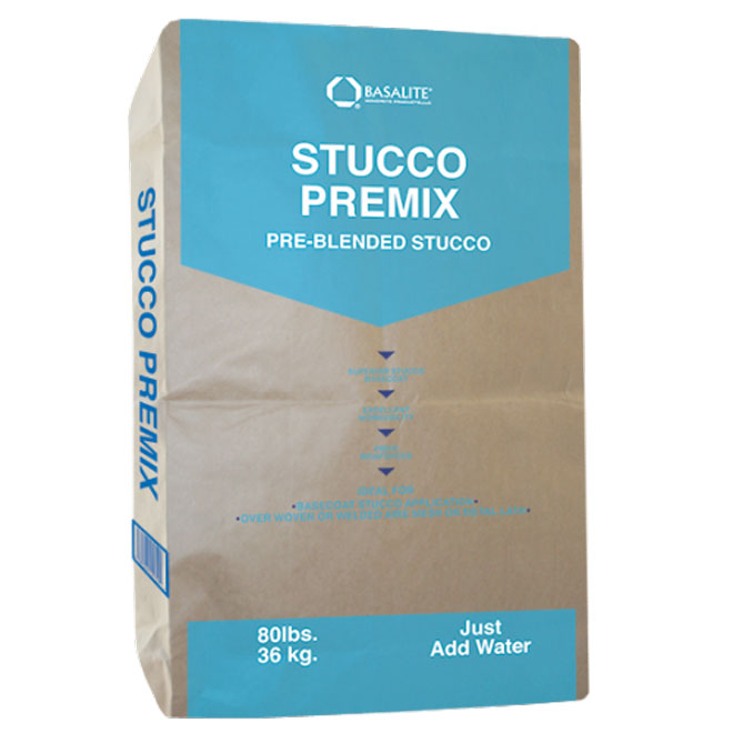 Premixed Outdoor Stucco - 36 kg