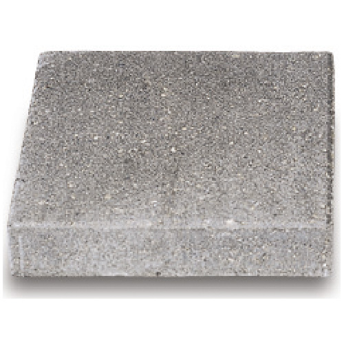 "Square Stepping Stone 18"" -Textured, Natural"