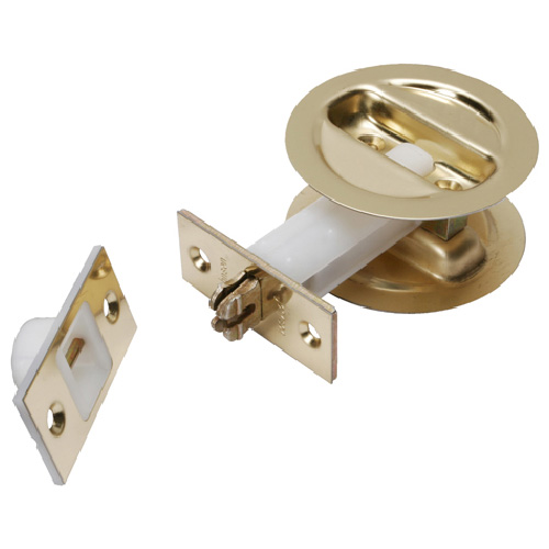 Circular Non-Latching Pocket Door Handle