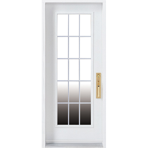Steel door rona for Masonite porte exterieur