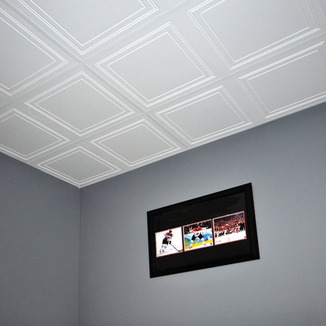Polo Ceiling Tile 2 X 4 4 Per Box Rona