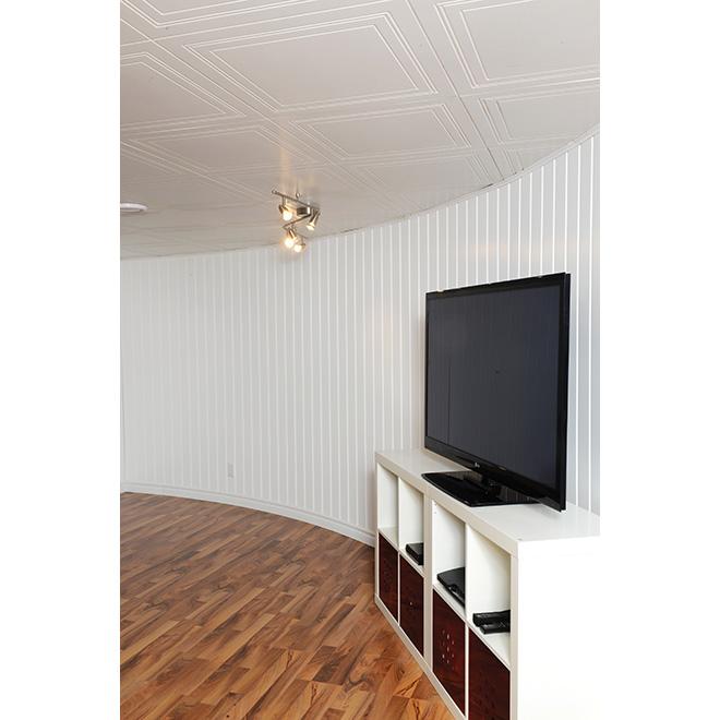 panneau mural d coratif universel rona. Black Bedroom Furniture Sets. Home Design Ideas