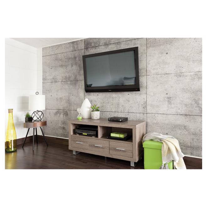 rev tement mural effet de b ton 1 4 x 48 x 96 rona. Black Bedroom Furniture Sets. Home Design Ideas
