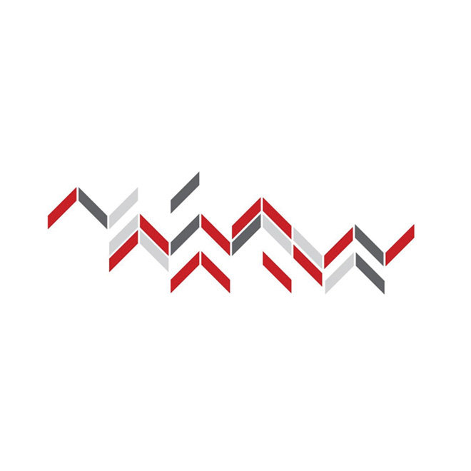 "Removable Vinyl Wall Decal - ""Zag"" - 2-Pack"
