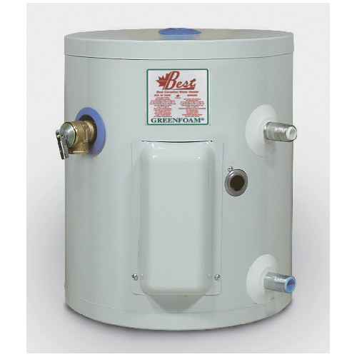 Electric Water Heater 5 Gal - White