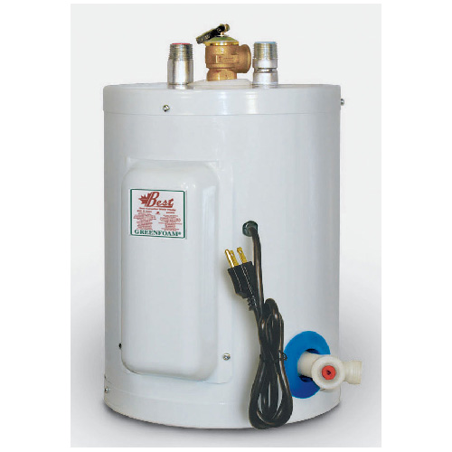 Electric Water Heater 2 Gal - White