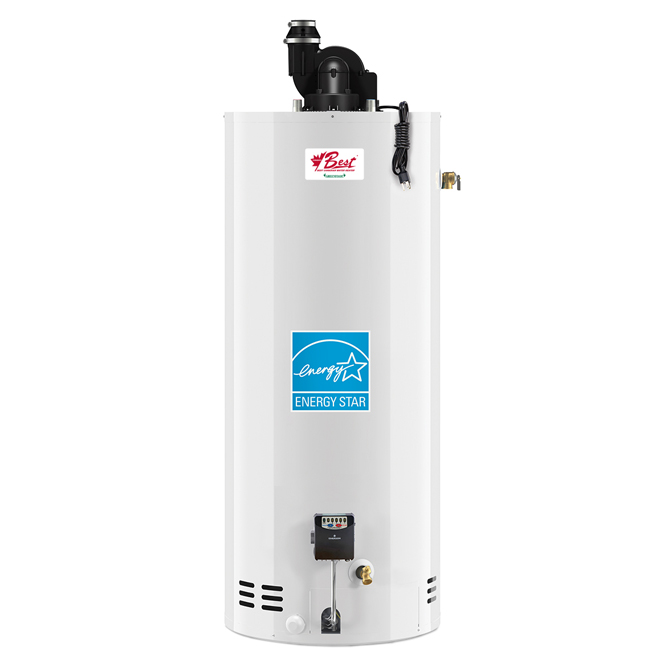 Natural Gas Water Heater - 50 Gallons